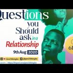 Questions You Should Ask In a Relationship